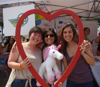 Rede no Pride de Thessaloniki